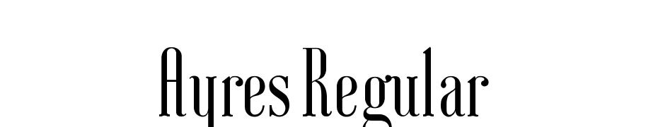 Ayres Regular Font Download Free